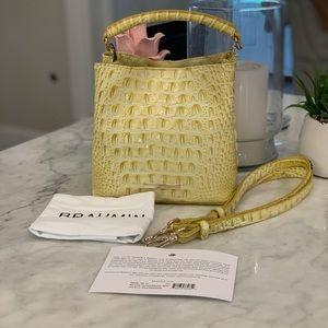 Brahmin Bags - NWT Brahmin Mini Leather Amelia Bucket Bag